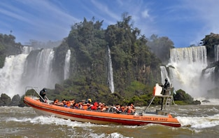 Iguazu Day Tour with Boat Ride Under the Falls