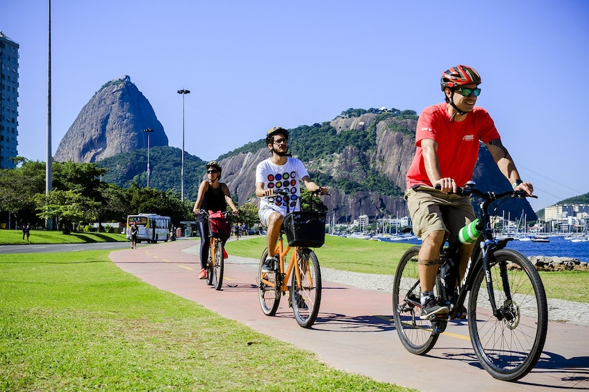 Show item 1 of 10. Bike Tour - Sugar Loaf, Downtown and Olympic Boulevard