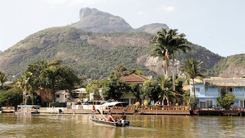 Bootsfahrt über den Lagunenkomplex Pantanal Carioca