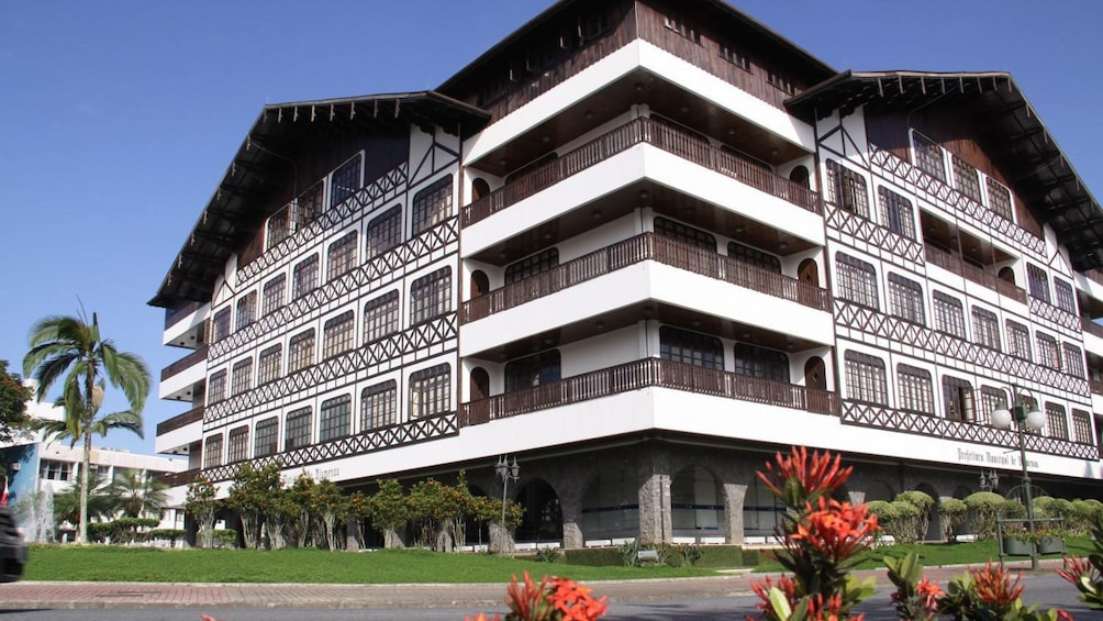 Blumenau is know for its German architecture