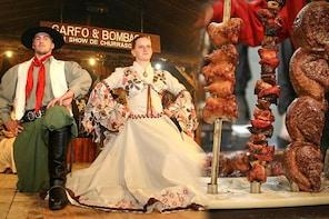 Perinteinen Gaucho-illallinen ja tanssiesitys