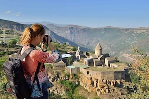 Tatev Monastery and ropeway, Khor Virap, Areni Winery, Noravank (private to...