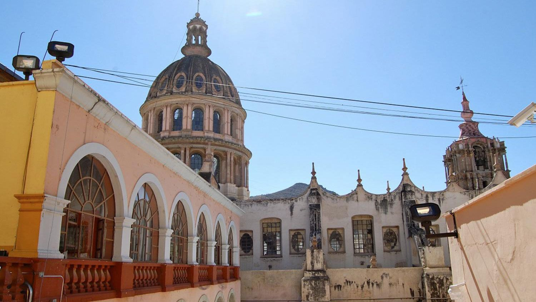 San Miguel de Allende church in Mexico