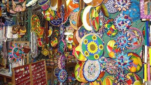 Local gift shop in Ixtapa, Mexico