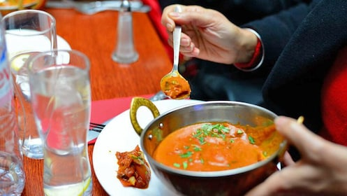 Soup served on the urban food and dining scene of London's artsy East End