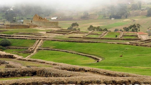 Archaeological site of the Inca ruins of Ingapirca and surrounding fields near Cuenca