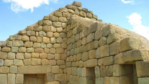 Inca ruins of Ingapirca near Cuenca
