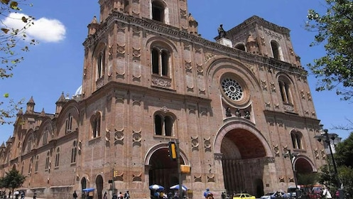 Gothic-style cathedral in Cuenca