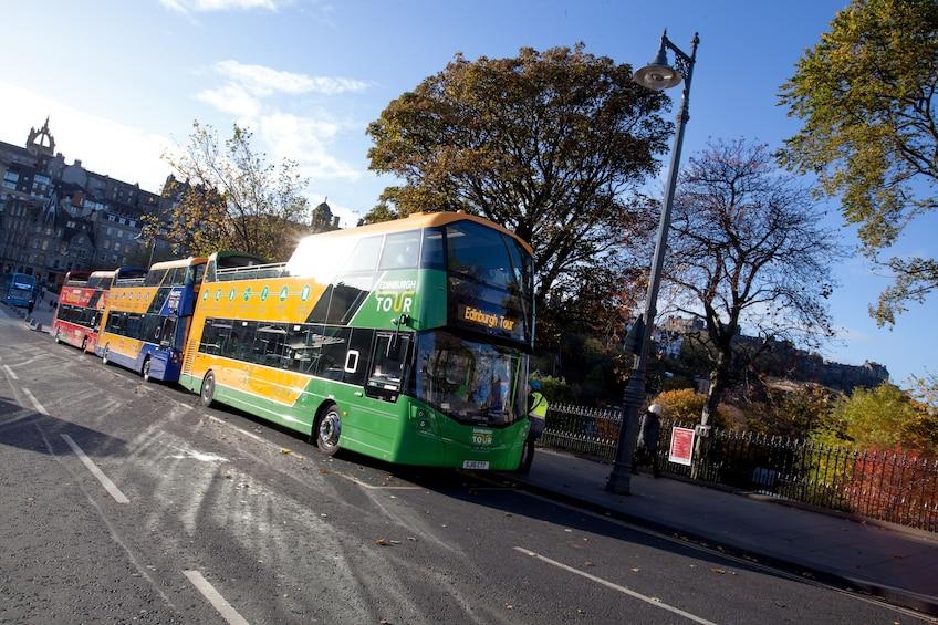 Show item 7 of 7. Edinburgh Hop-On Hop-Off Bus Tour