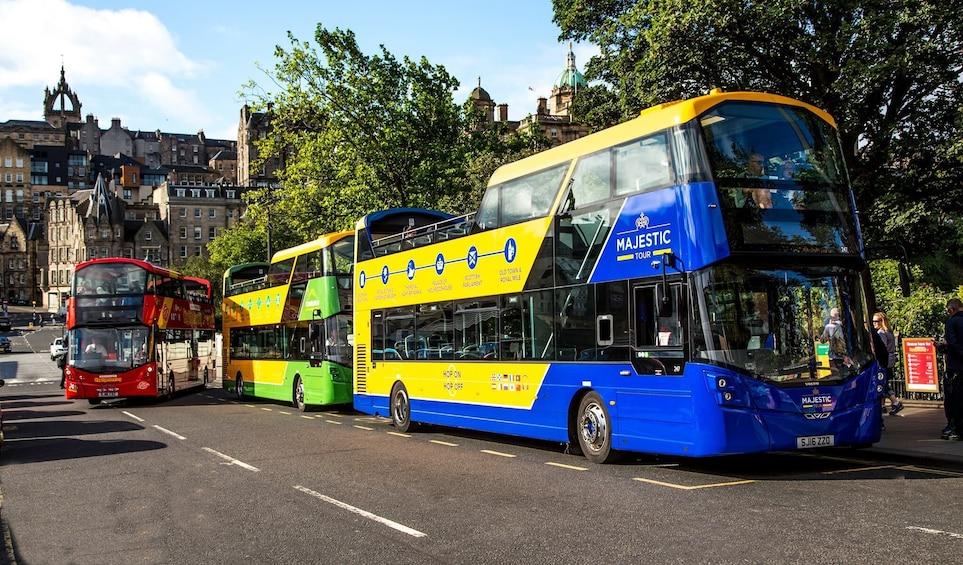 Show item 3 of 7. Edinburgh Hop-On Hop-Off Bus Tour