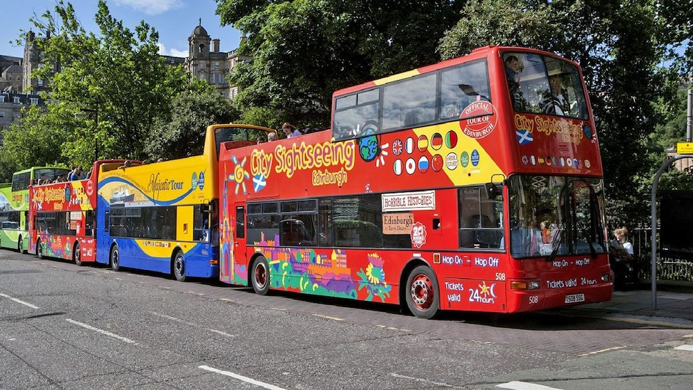 Show item 3 of 9. City Sightseeing buses