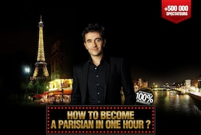 The hit Comedy Show 'How to Become a Parisian in one Hour'