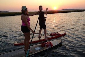 Evening Paddleboard Excursion on Rehoboth Bay