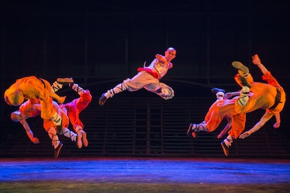 Shaolin Kung Fu Show Tickets with Optional Hotel pick-up