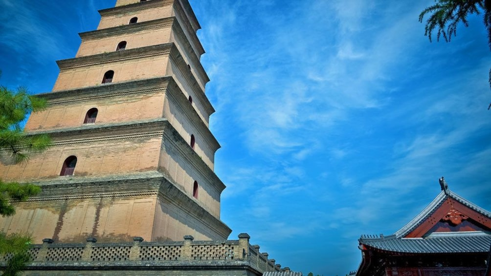 Show item 2 of 5. pagoda style tower in Xian