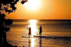 Sunset Guided Stand Up Paddle Lagoon Tour at Ishigaki