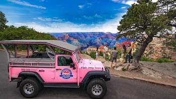 The Grand Entrance Jeep Tour from Grand Canyon South Rim