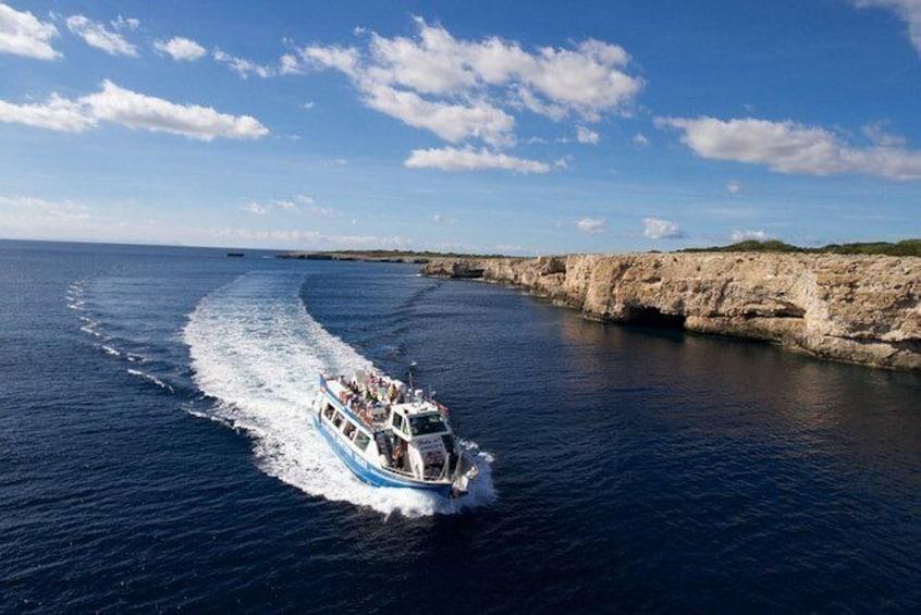 Show item 4 of 4. Menorca coastline