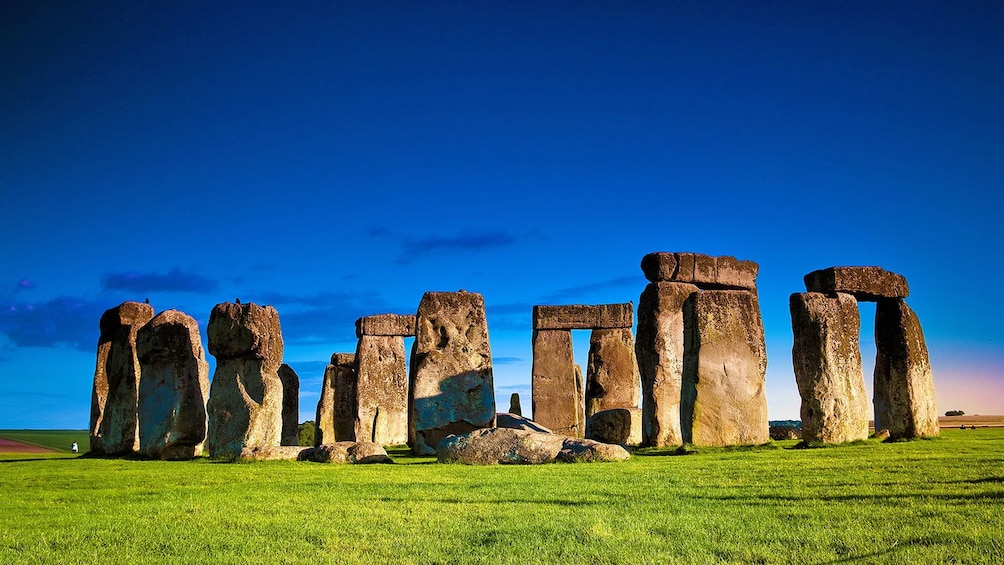 Show item 1 of 10. a bright day out at the Stonehenge in London
