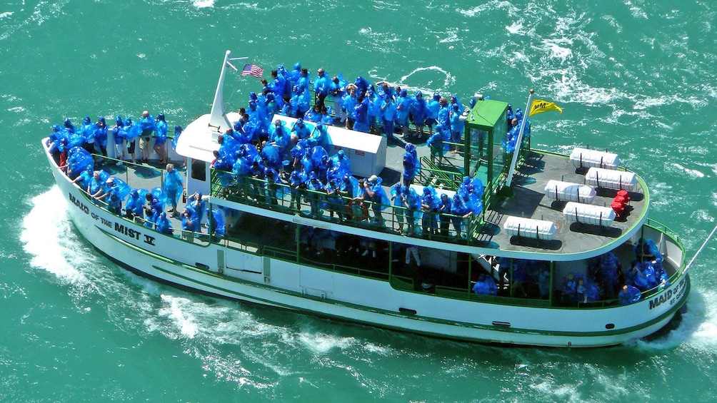 Show item 1 of 7. iagra Falls tour boat