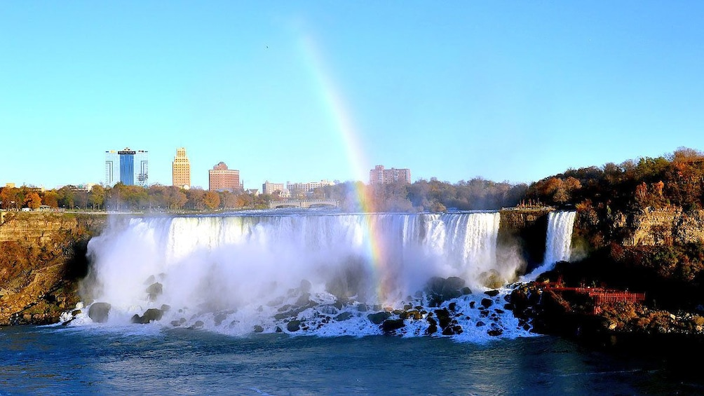 Show item 2 of 7. Niagra Falls with a Rainbow