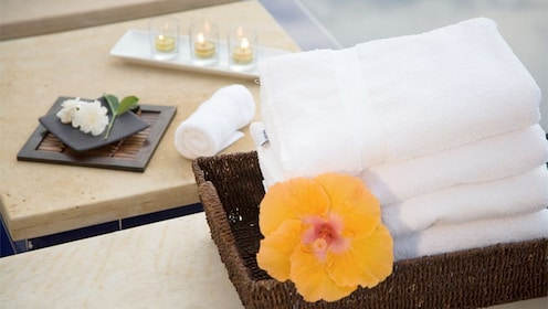 Agadir spa towels