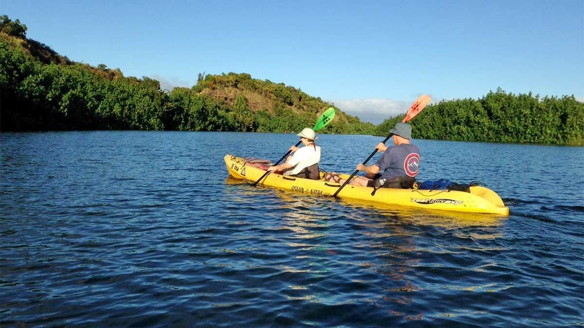 Guided Kayak Tour in Kauai