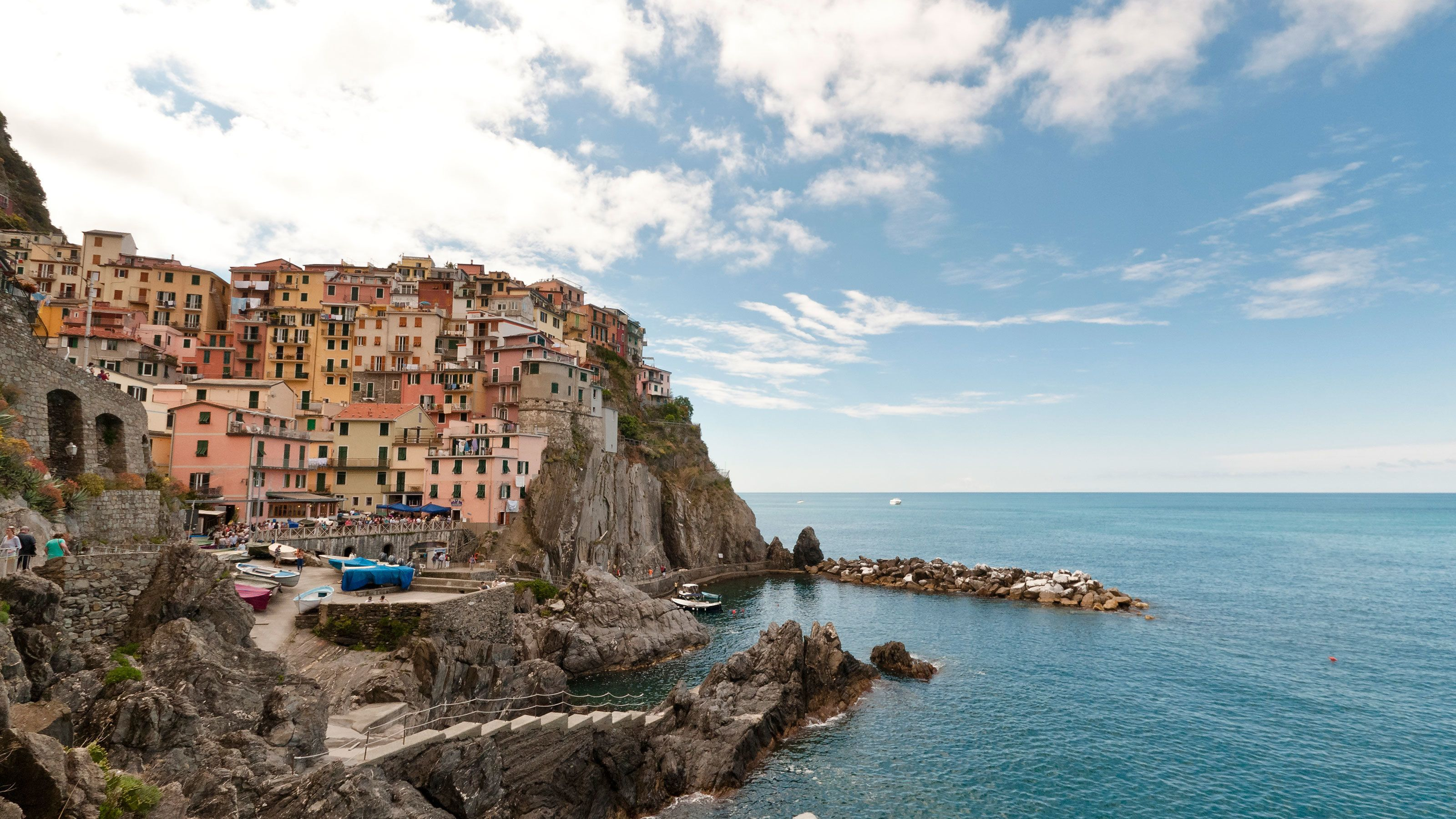 Cinque Terra on the water