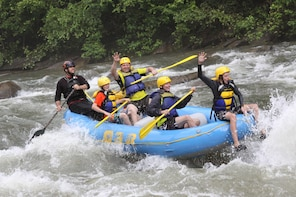 Reventazon River Whitewater Rafting. Limon Shore Excursion