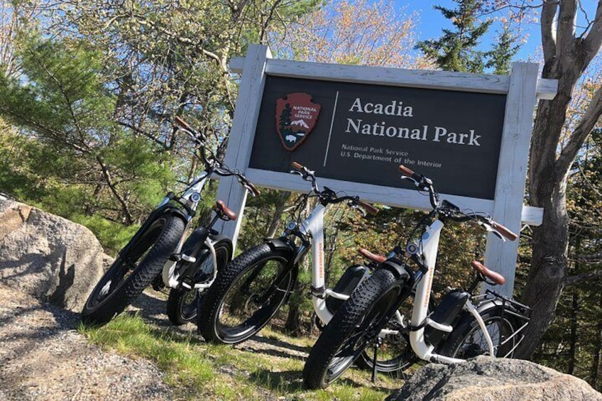 E-bike Rentals from Acadia National Park