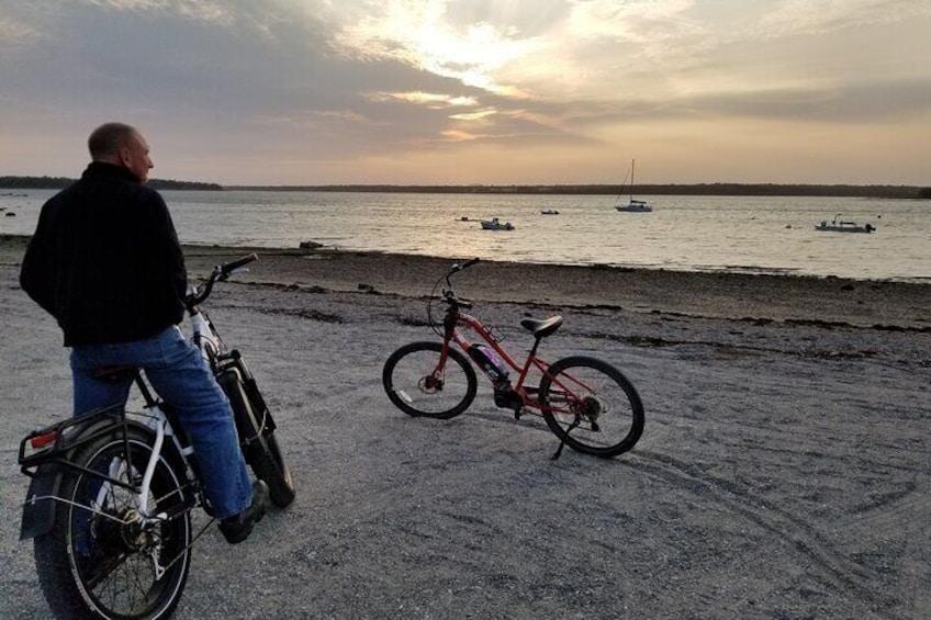 A Bar Harbor sunset ride.