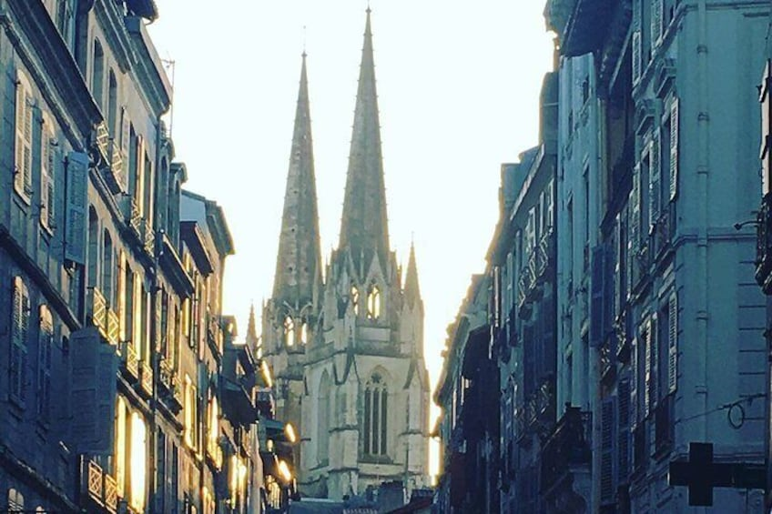 The magnificent Bayonne cathedral