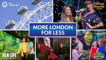 More London for Less: 5 Attractions inc. The London Eye