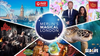 Pass Merlin's Magical London : 5 attractions dont London Eye, Madame Tussau...