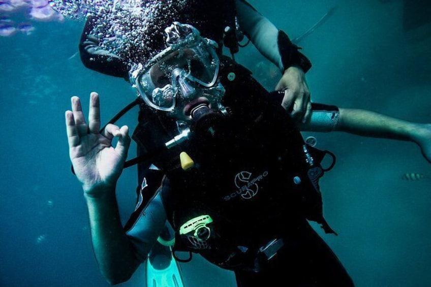 Maafushi: Scuba diving in Maldives