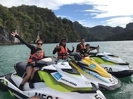 Three Island JetSki Tour by Mega Water Sports