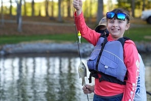 Private Fishing Adventure on Smith Mountain Lake for Kids