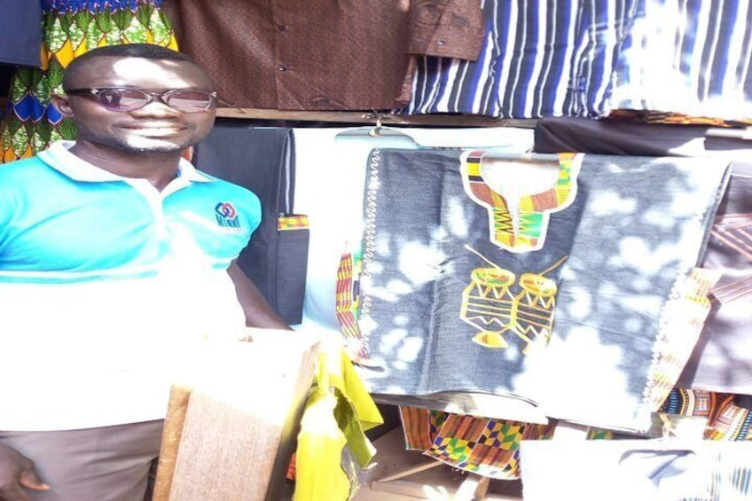 Private Cultural Tour of Kente and Adinkra Traditional Cloths