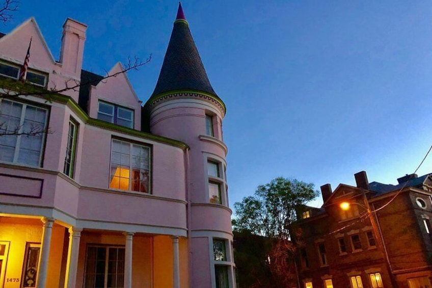 """In America's Most Haunted Neighborhood, the Pink Palace is haunted by a protective ghost known as """"Avery."""""""