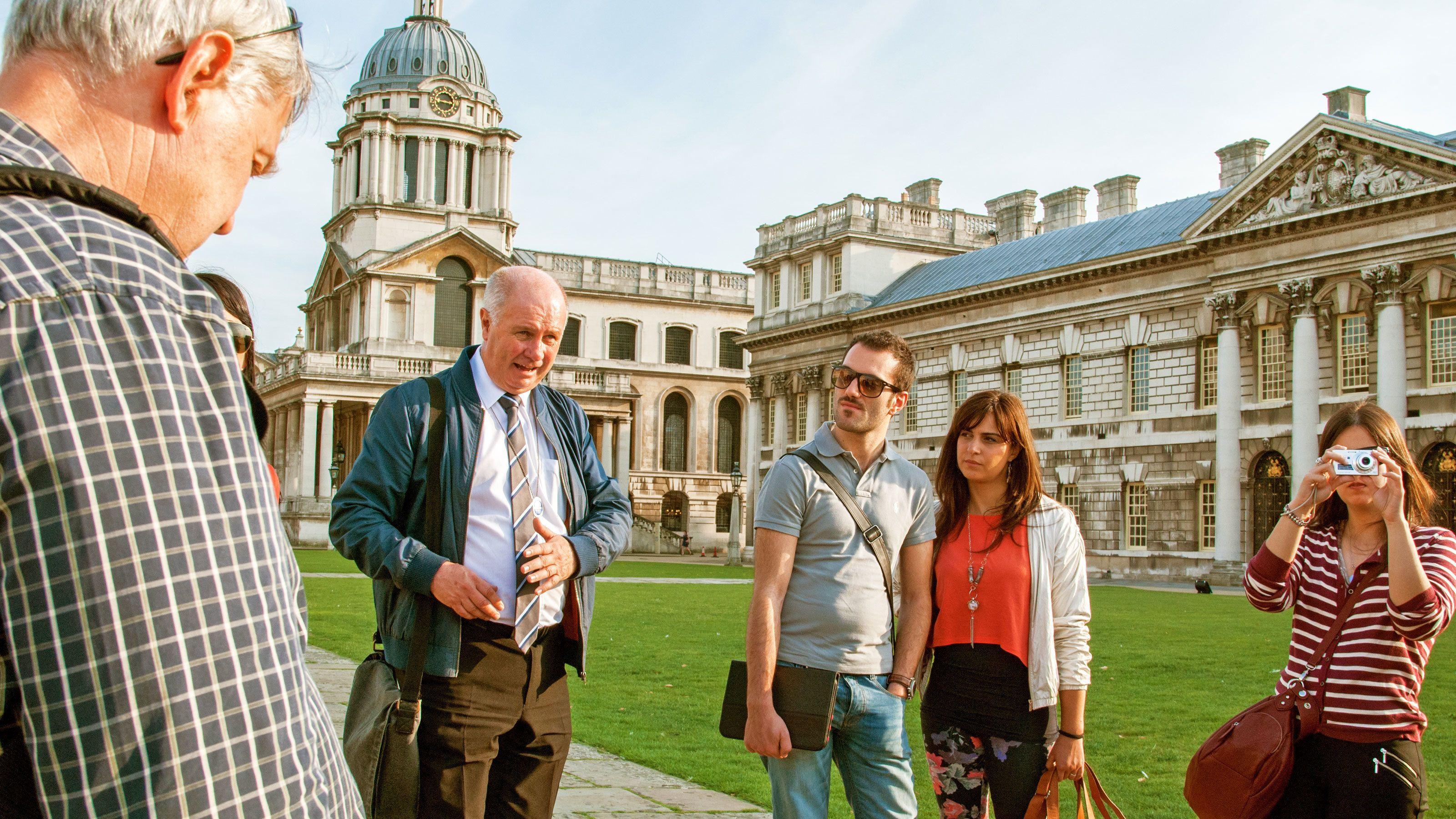 Dagexcursie naar Leeds Castle, Canterbury, Dover en Greenwich inclusief riv...