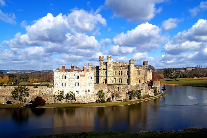 Show item 1 of 10. Leeds Castle, Canterbury, Dover & Greenwich Full-Day Tour with River Cruise