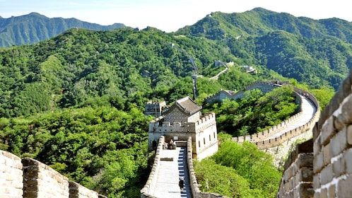 Stunning view of the Great Wall in Beijing