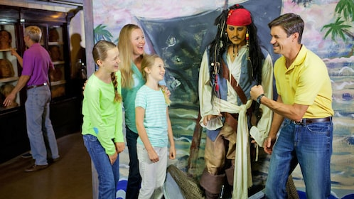 Jack Sparrow at the Potter's Wax Museum in St. Augustine