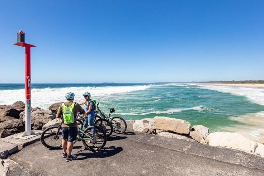 Lush Hinterland & Secret Beaches Tour - Guided E Bike Tour