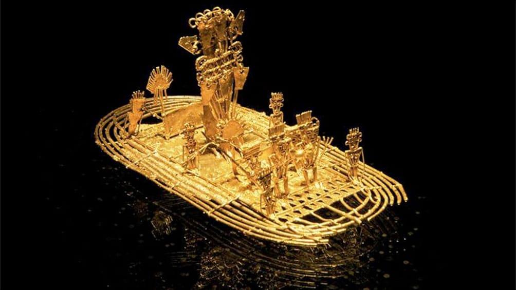 Ver elemento 3 de 4. Musica raft Gold Museum in Colombia