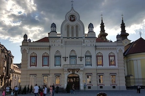 Timișoara - walking tour in Europe's Capital of Culture 2021