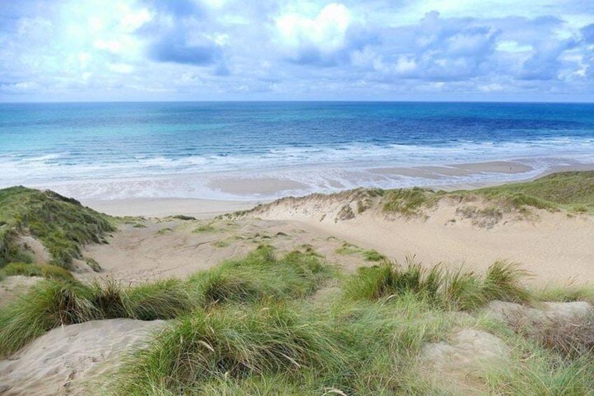 Penhale Sands, Perranporth, Cornwall