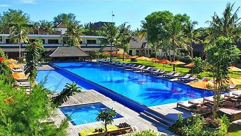 resort pool in Bali