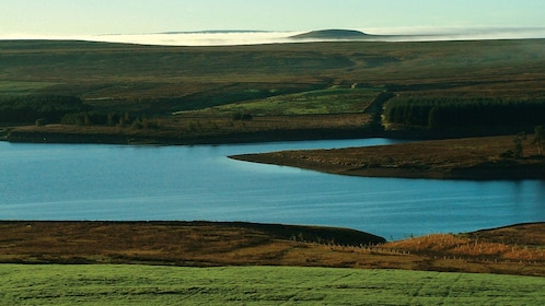 Rolling hills and a pristine lake in York