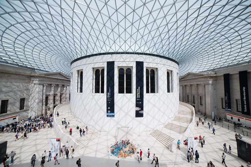 Show item 2 of 10. Afternoon Tea at the British Museum